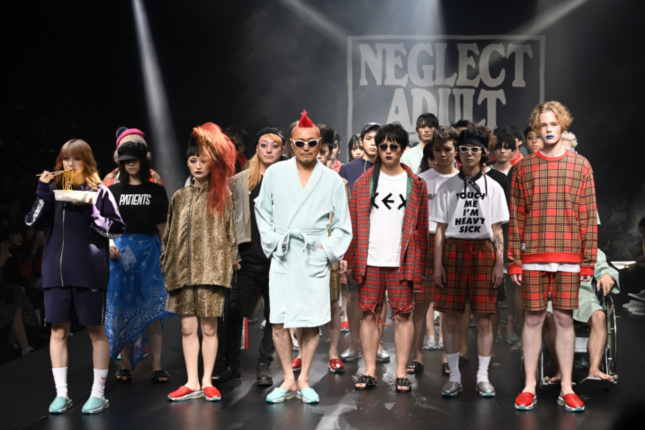 NEGLECT ADULT PATiENTS 2019 SPRING SUMMER COLLECTiON ©Tokyo Now
