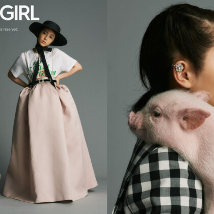 『VOGUE GIRL』の人気企画「GIRL OF THE MONTH」に浜辺美波が登場!