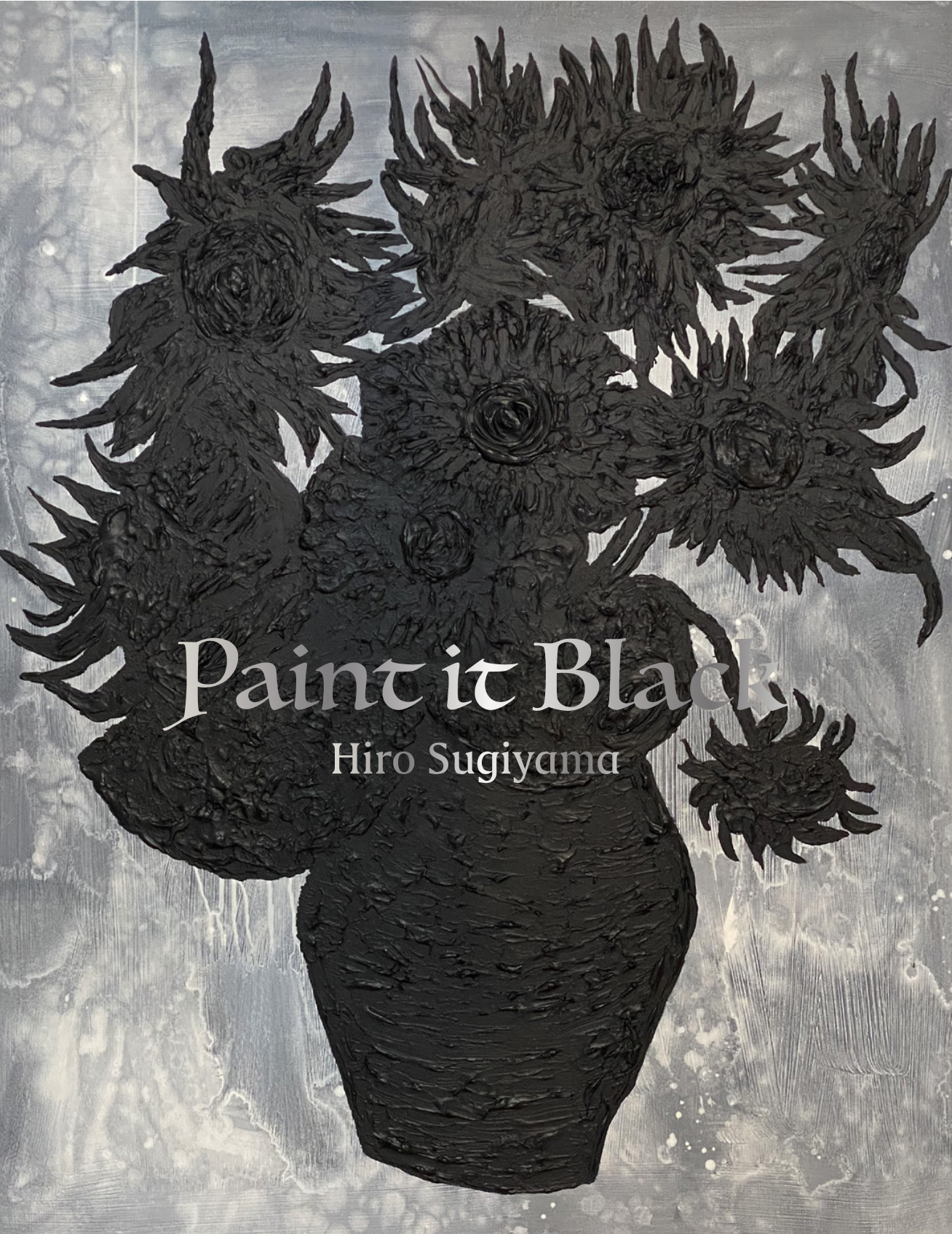 Hiro Sugiyama archive exhibition「『間』の往来 -Drawing 1991-2021」 solo exhibition「Paint it Black」
