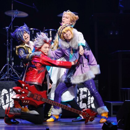 Live Musical『SHOW BY ROCK!!』-DO根性北学園編-夜と黒のReflection 初日開幕!