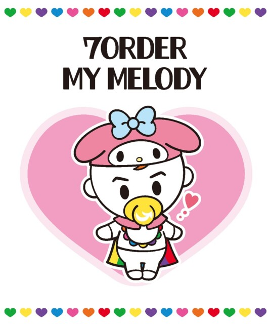 7ORDER×MY MELODY