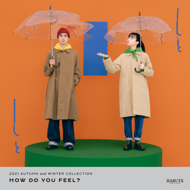 HARUTA 2021 AUTUMN and WINTER COLLECTION「HOW DO YOU FEEL」